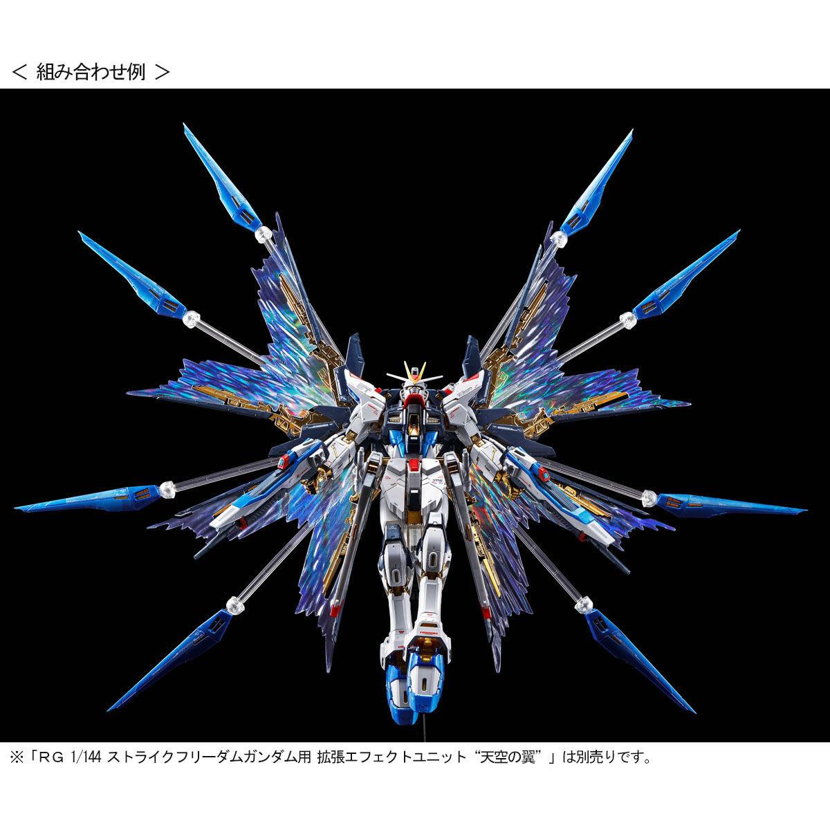 【限定販売】RG 1/144『ストライクフリーダムガンダム[チタニウムフィニッシュ]』機動戦士ガンダムSEED DESTINY プラモデル-008