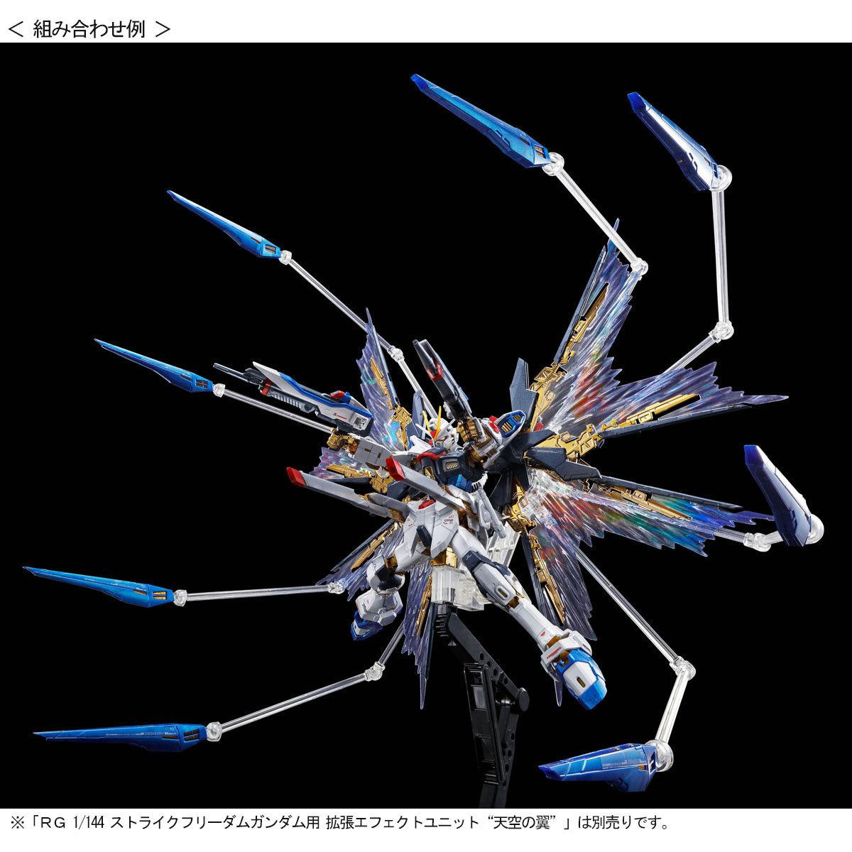 【限定販売】RG 1/144『ストライクフリーダムガンダム[チタニウムフィニッシュ]』機動戦士ガンダムSEED DESTINY プラモデル-009