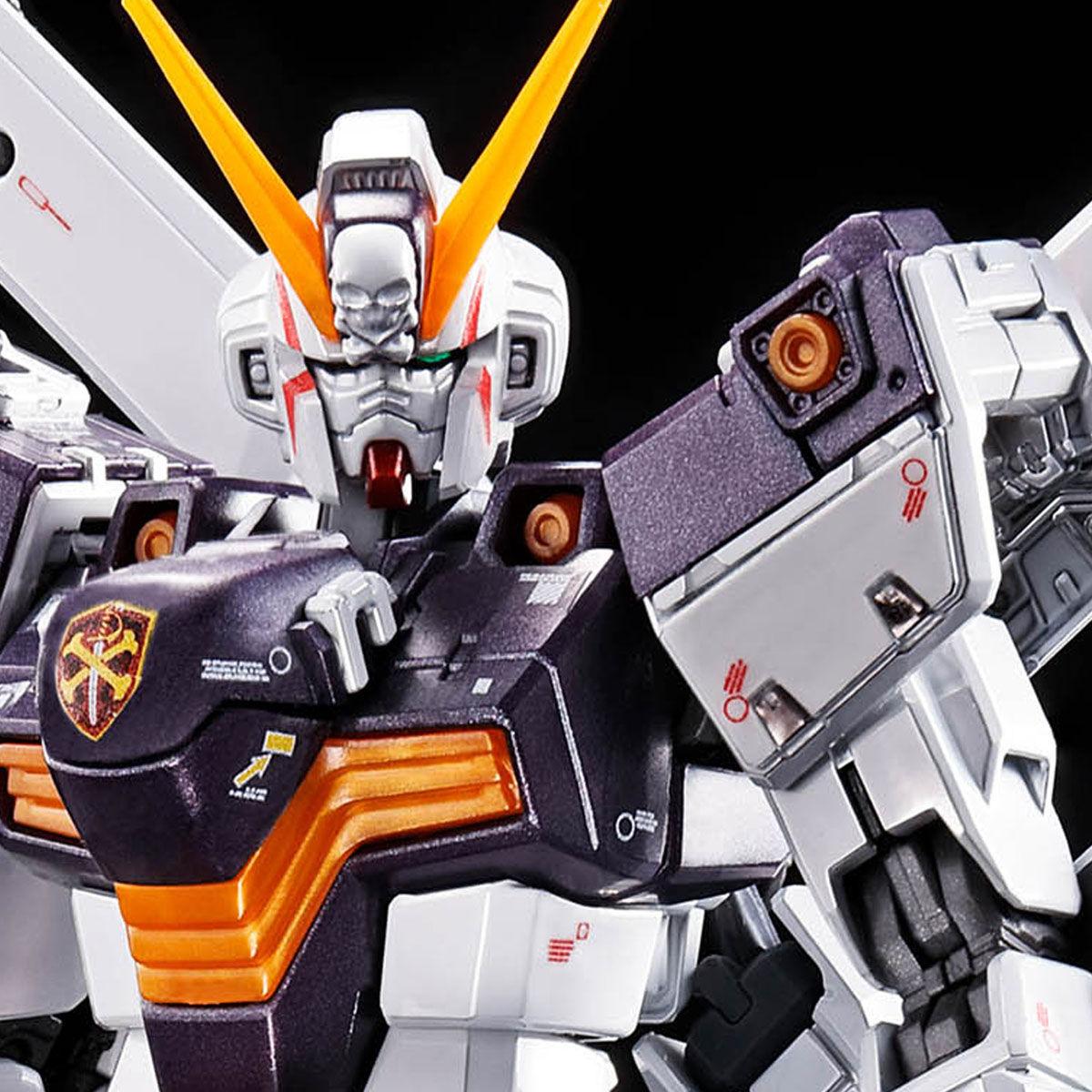 【限定販売】RG 1/144『クロスボーン・ガンダムX1[チタニウムフィニッシュ]』プラモデル-001