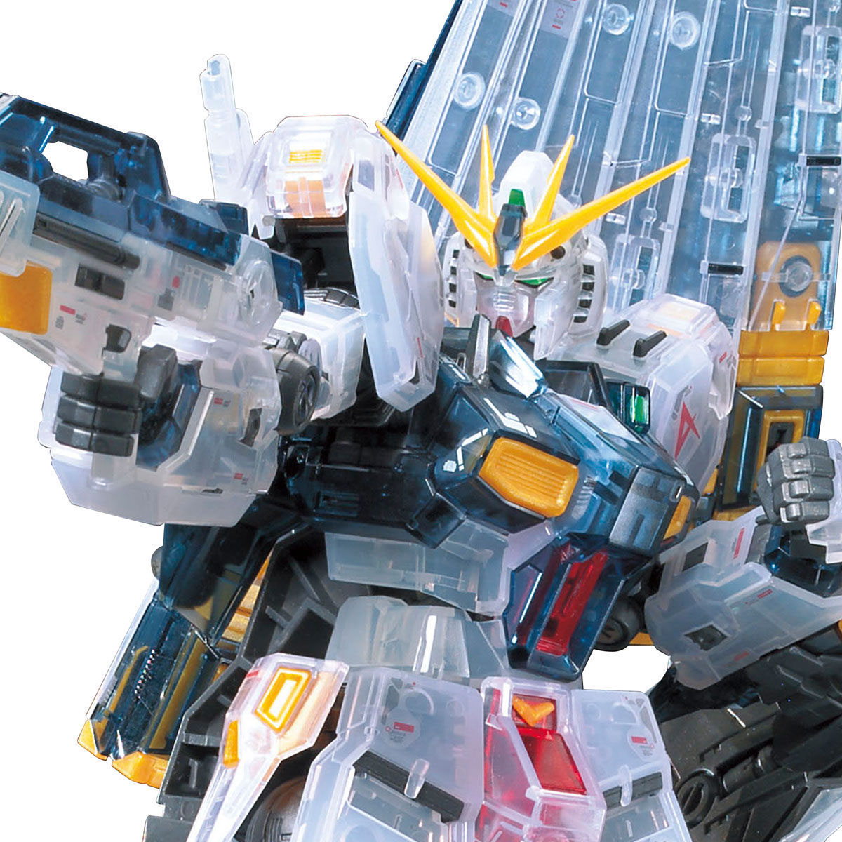 【限定販売】RG 1/144『νガンダム[クリアカラー]初回生産限定パッケージ』逆襲のシャア プラモデル-005