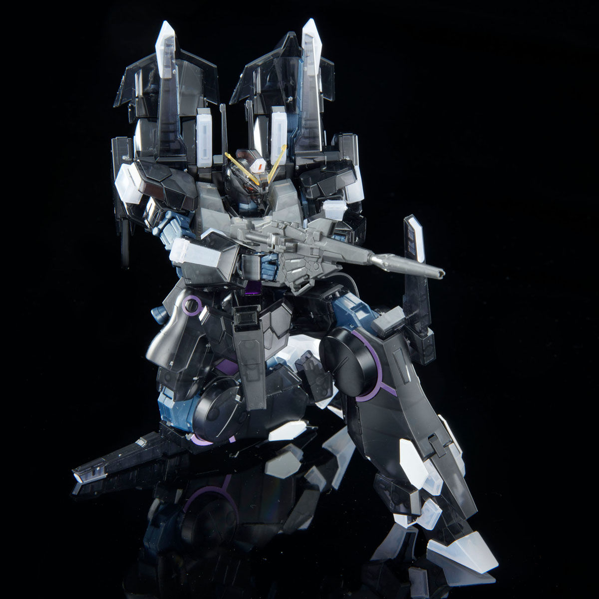 【限定販売】HG 1/144『シルヴァ・バレト・サプレッサー[クリアカラー]』ガンダムNT プラモデル-004