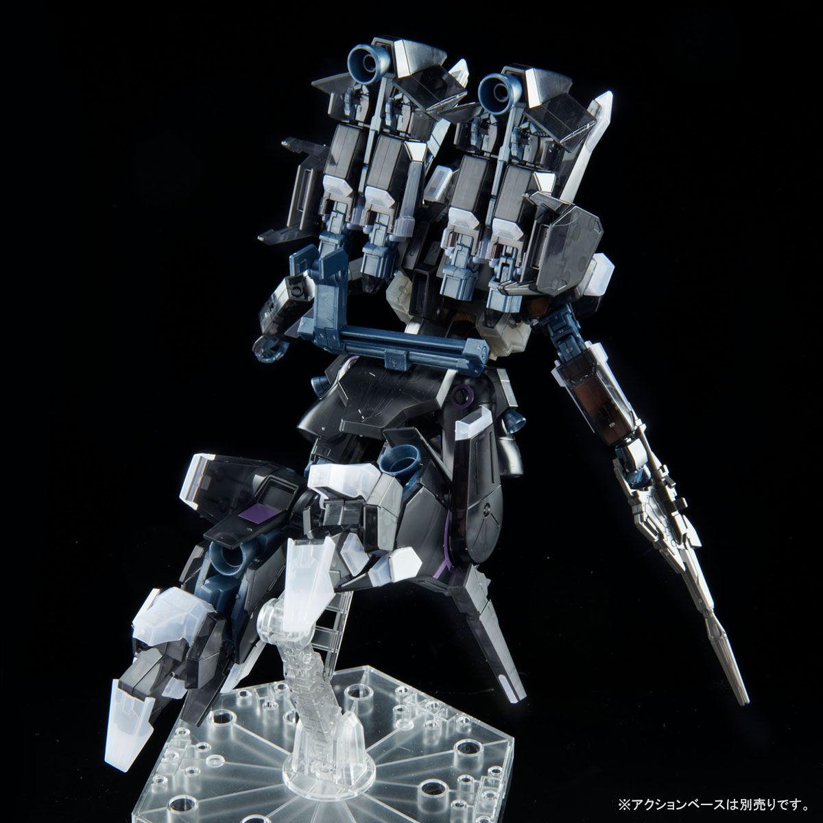 【限定販売】HG 1/144『シルヴァ・バレト・サプレッサー[クリアカラー]』ガンダムNT プラモデル-006