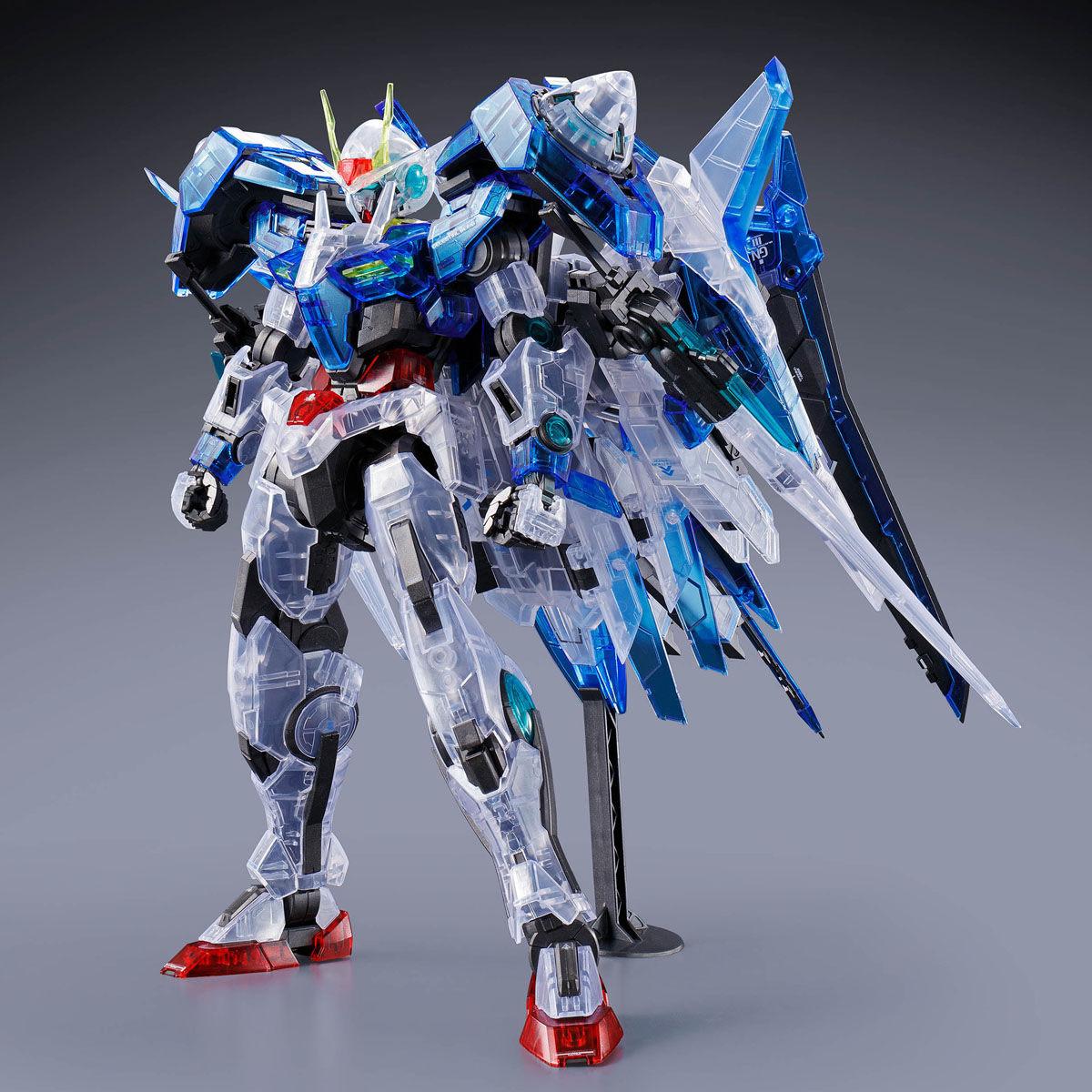 【限定販売】MG 1/100『ダブルオーザンライザー[クリアカラー]』機動戦士ガンダム00V プラモデル-002