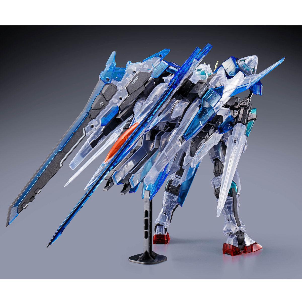 【限定販売】MG 1/100『ダブルオーザンライザー[クリアカラー]』機動戦士ガンダム00V プラモデル-003