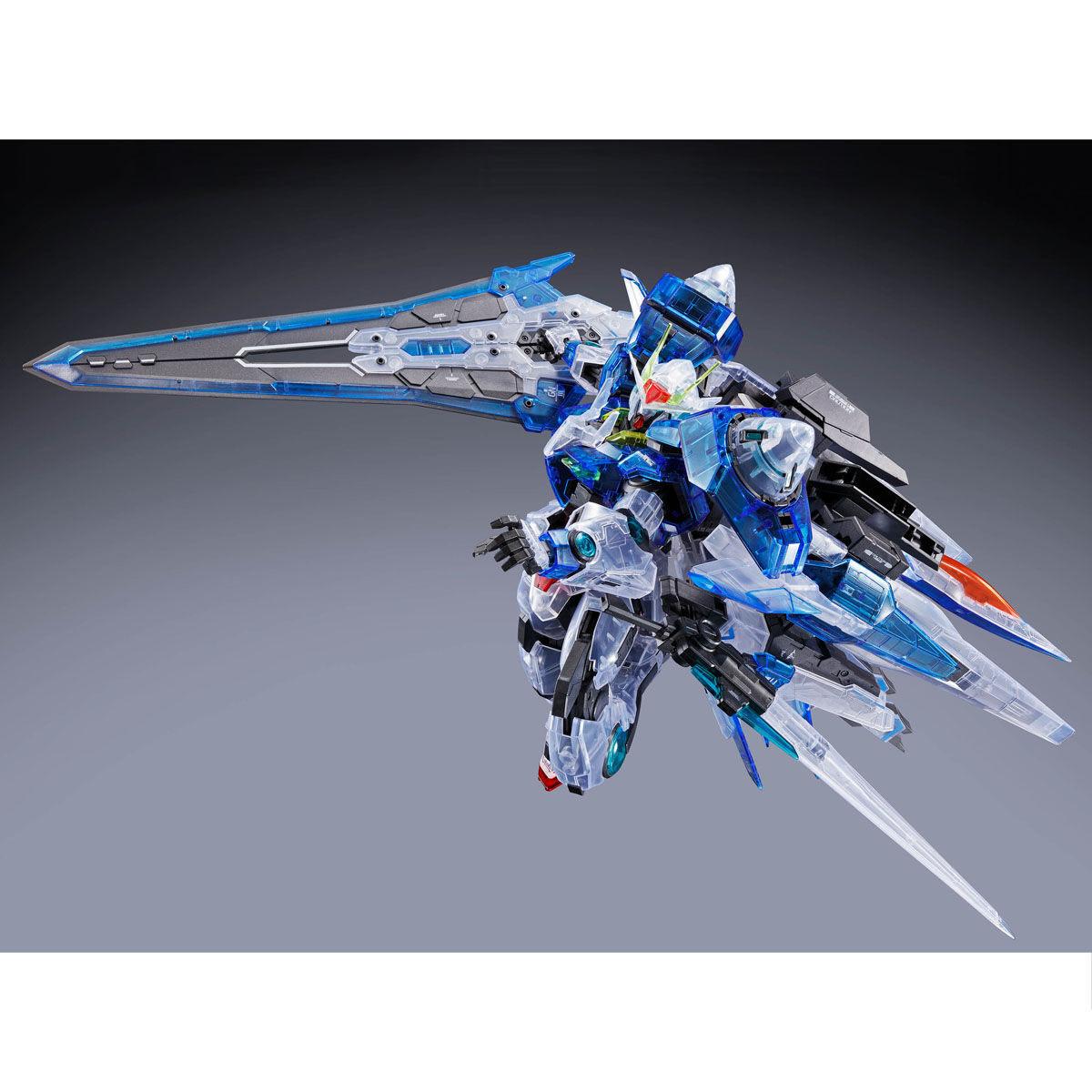 【限定販売】MG 1/100『ダブルオーザンライザー[クリアカラー]』機動戦士ガンダム00V プラモデル-004