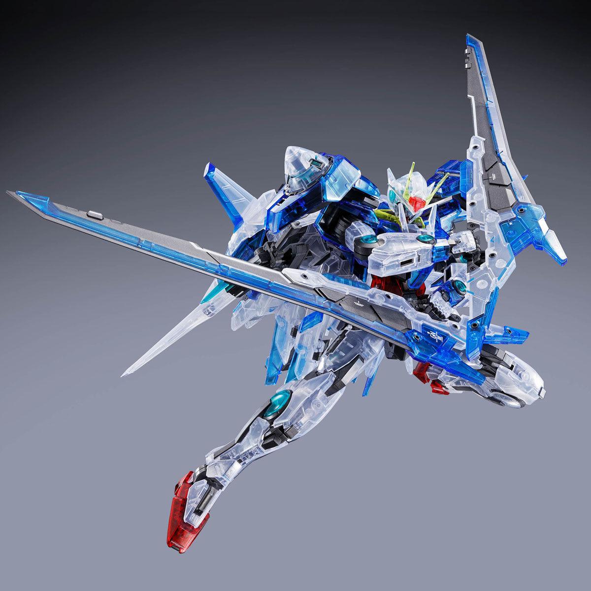 【限定販売】MG 1/100『ダブルオーザンライザー[クリアカラー]』機動戦士ガンダム00V プラモデル-005