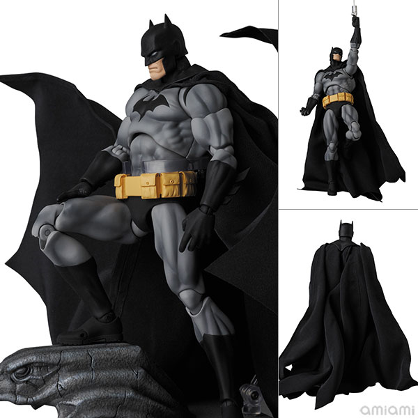 """マフェックス No.126『BATMAN """"HUSH"""" BLACK Ver.』バットマン:ハッシュ 可動フィギュア"""