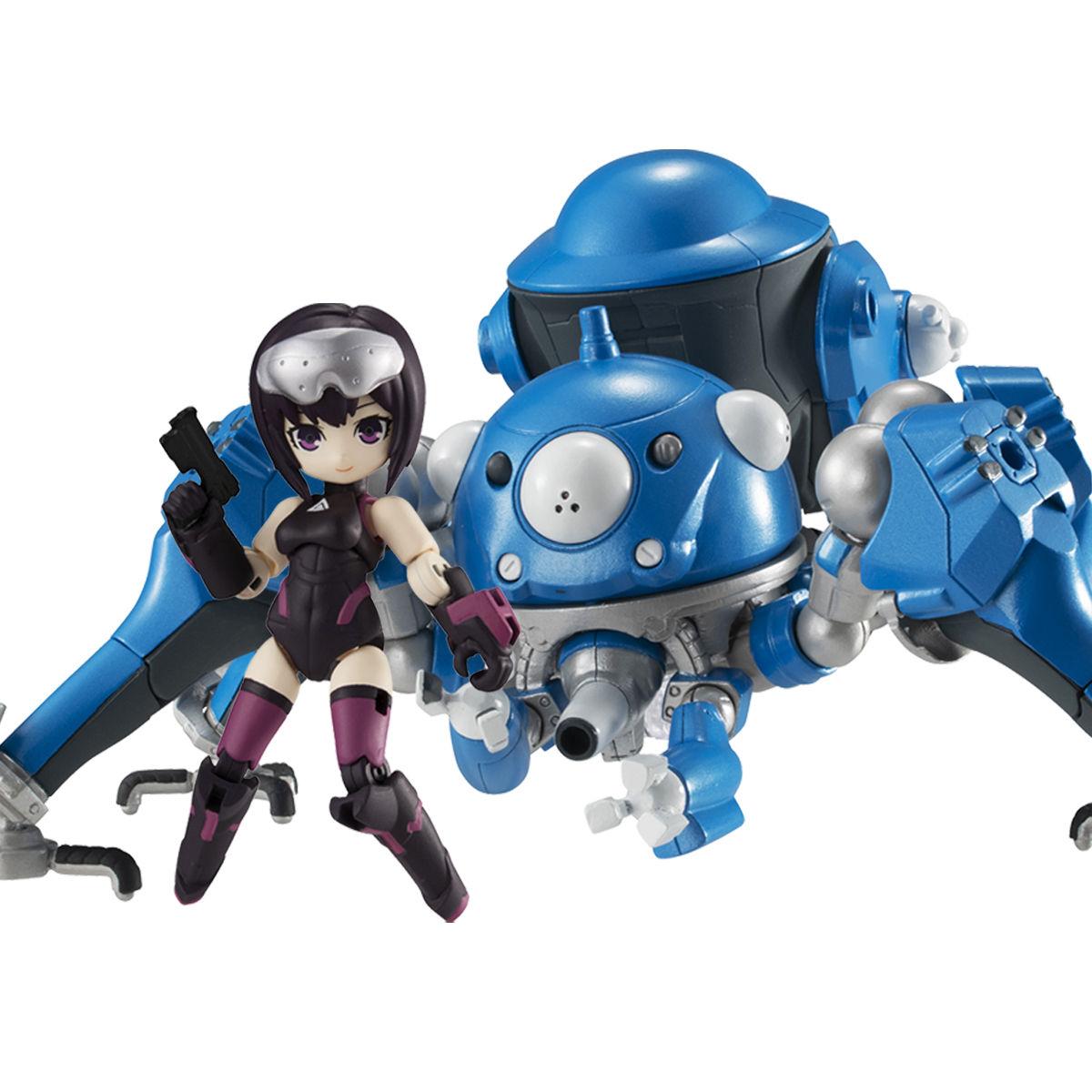 デスクトップアーミー『草薙素子&タチコマ』攻殻機動隊SAC_2045 デフォルメ可動フィギュア-001