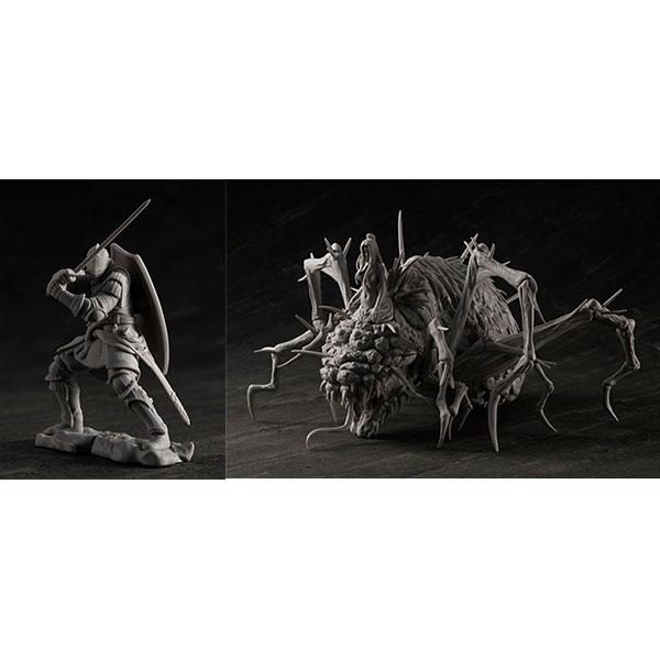 ゲームピースコレクション『DARK SOULS 上級騎士&混沌の魔女クラーグ』無塗装組立てキット