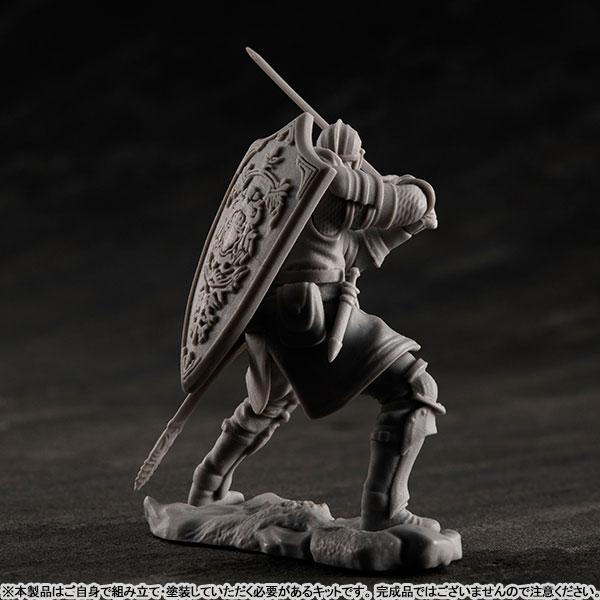 ゲームピースコレクション『DARK SOULS 上級騎士&混沌の魔女クラーグ』無塗装組立てキット-007