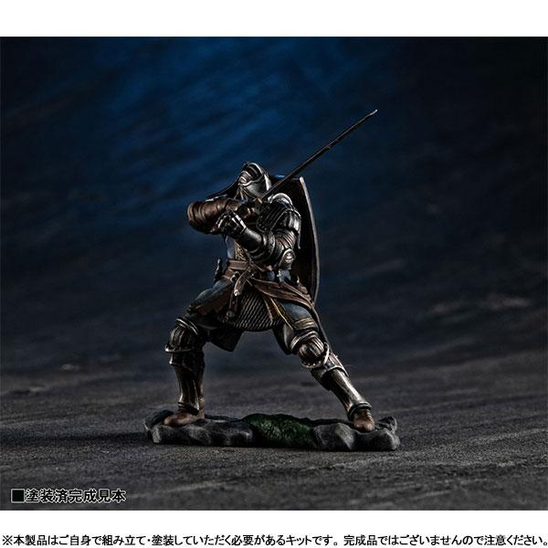 ゲームピースコレクション『DARK SOULS 上級騎士&混沌の魔女クラーグ』無塗装組立てキット-008
