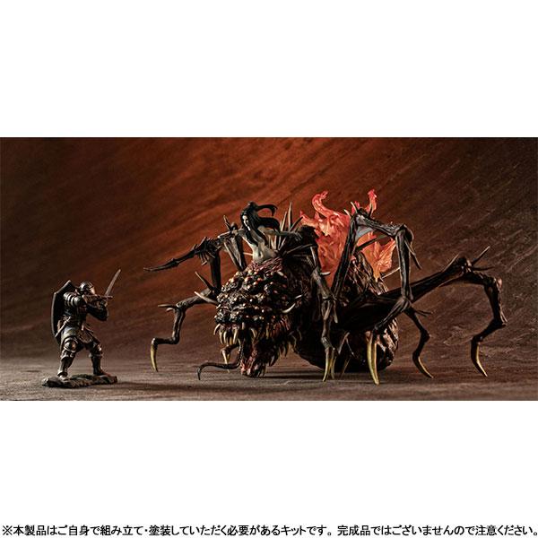 ゲームピースコレクション『DARK SOULS 上級騎士&混沌の魔女クラーグ』無塗装組立てキット-010