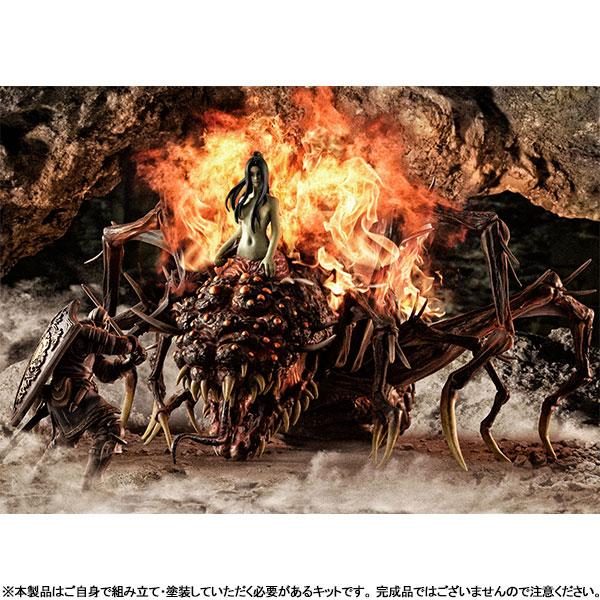 ゲームピースコレクション『DARK SOULS 上級騎士&混沌の魔女クラーグ』無塗装組立てキット-011
