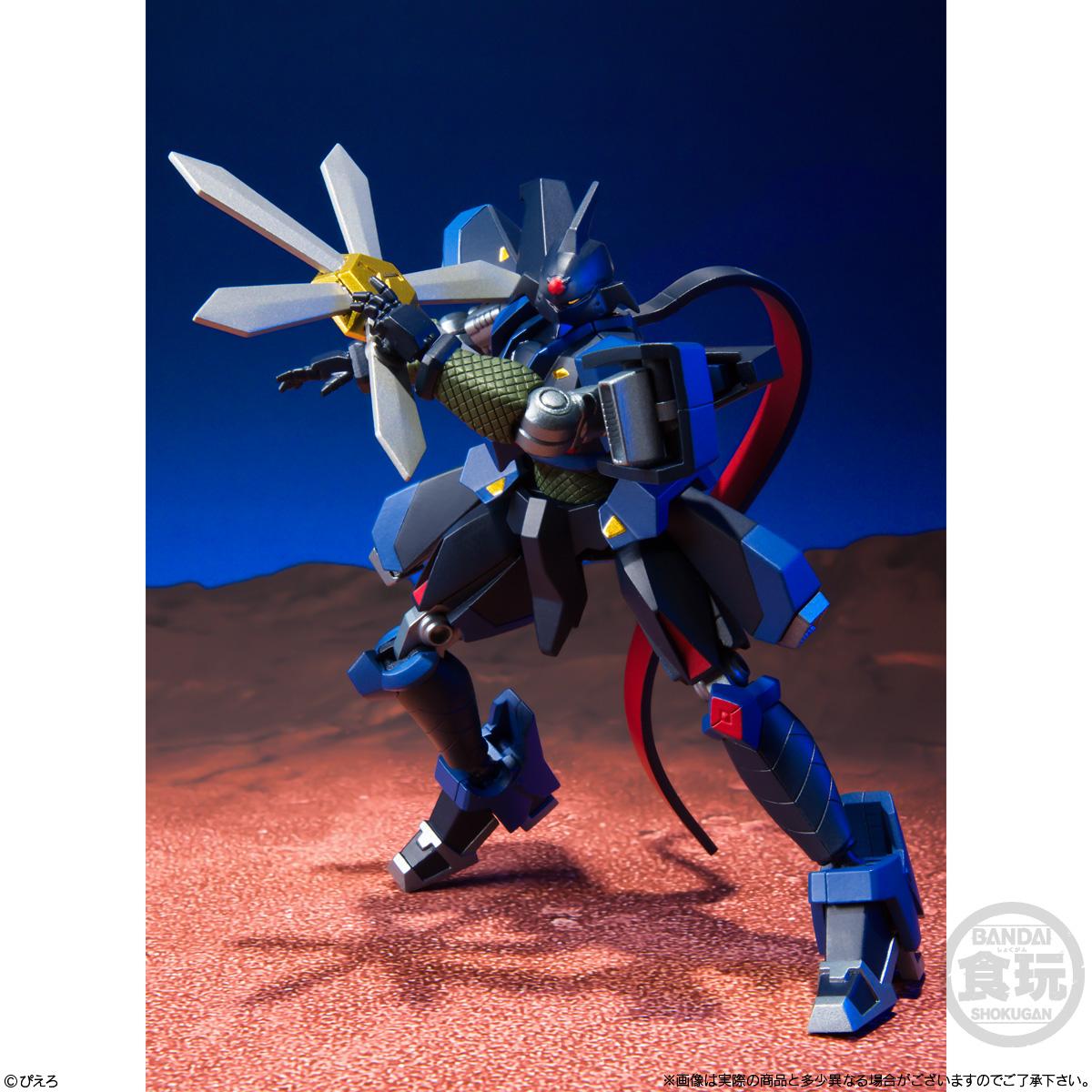 【食玩】スーパーミニプラ『忍者戦士 飛影Vol.3』3個入りBOX-004
