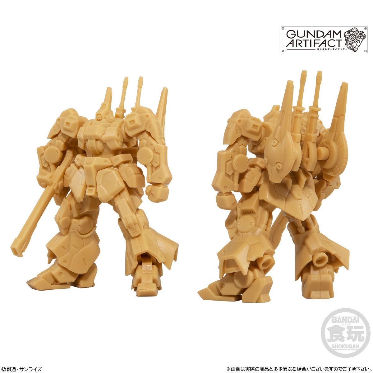 【食玩】機動戦士ガンダム『ガンダムアーティファクト』プラ製ミニキット 10個入りBOX-002