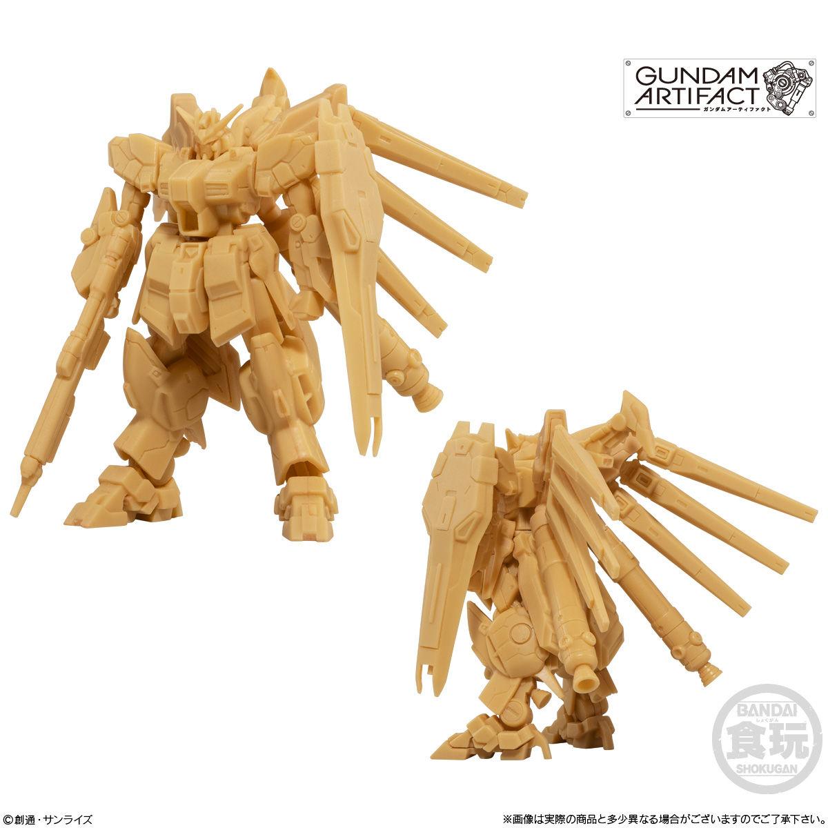 【食玩】機動戦士ガンダム『ガンダムアーティファクト』プラ製ミニキット 10個入りBOX-003