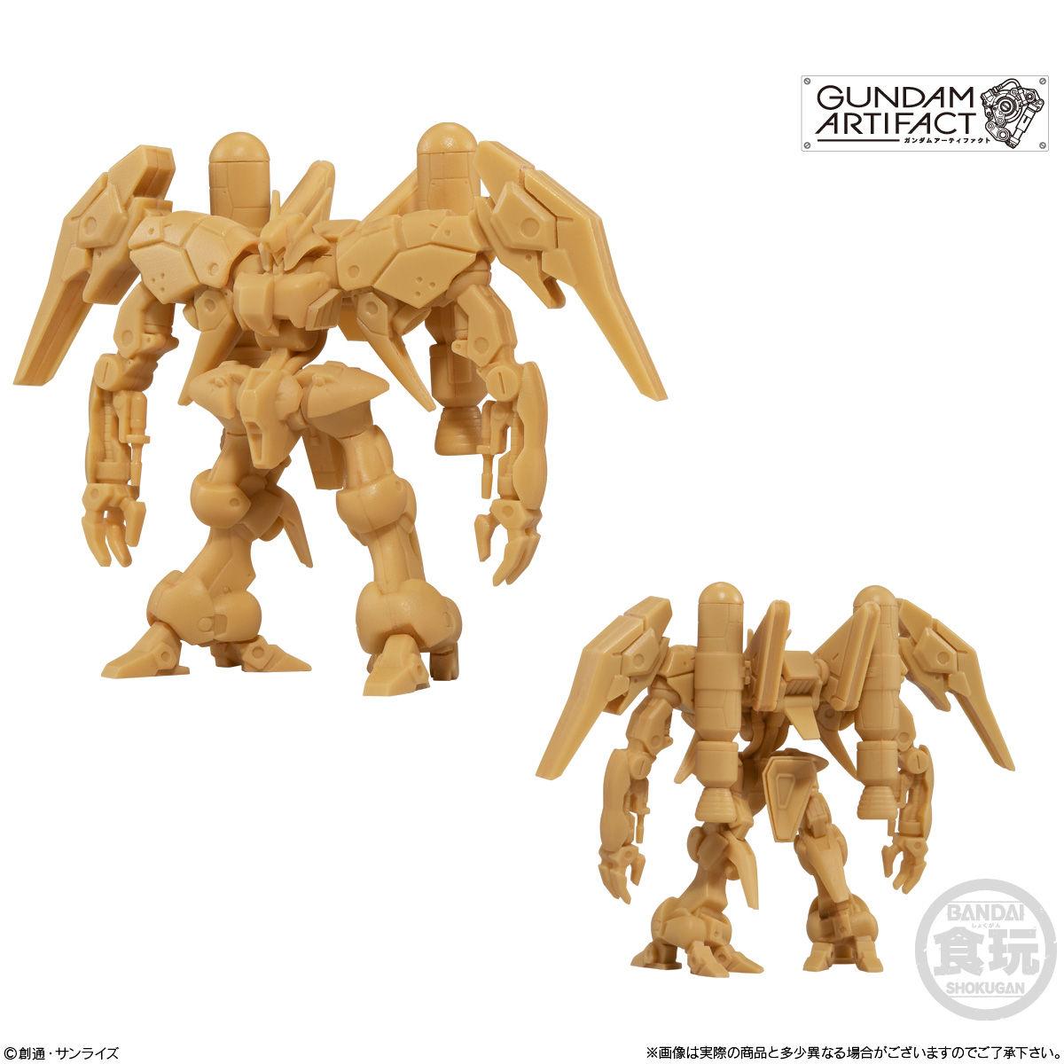 【食玩】機動戦士ガンダム『ガンダムアーティファクト』プラ製ミニキット 10個入りBOX-004