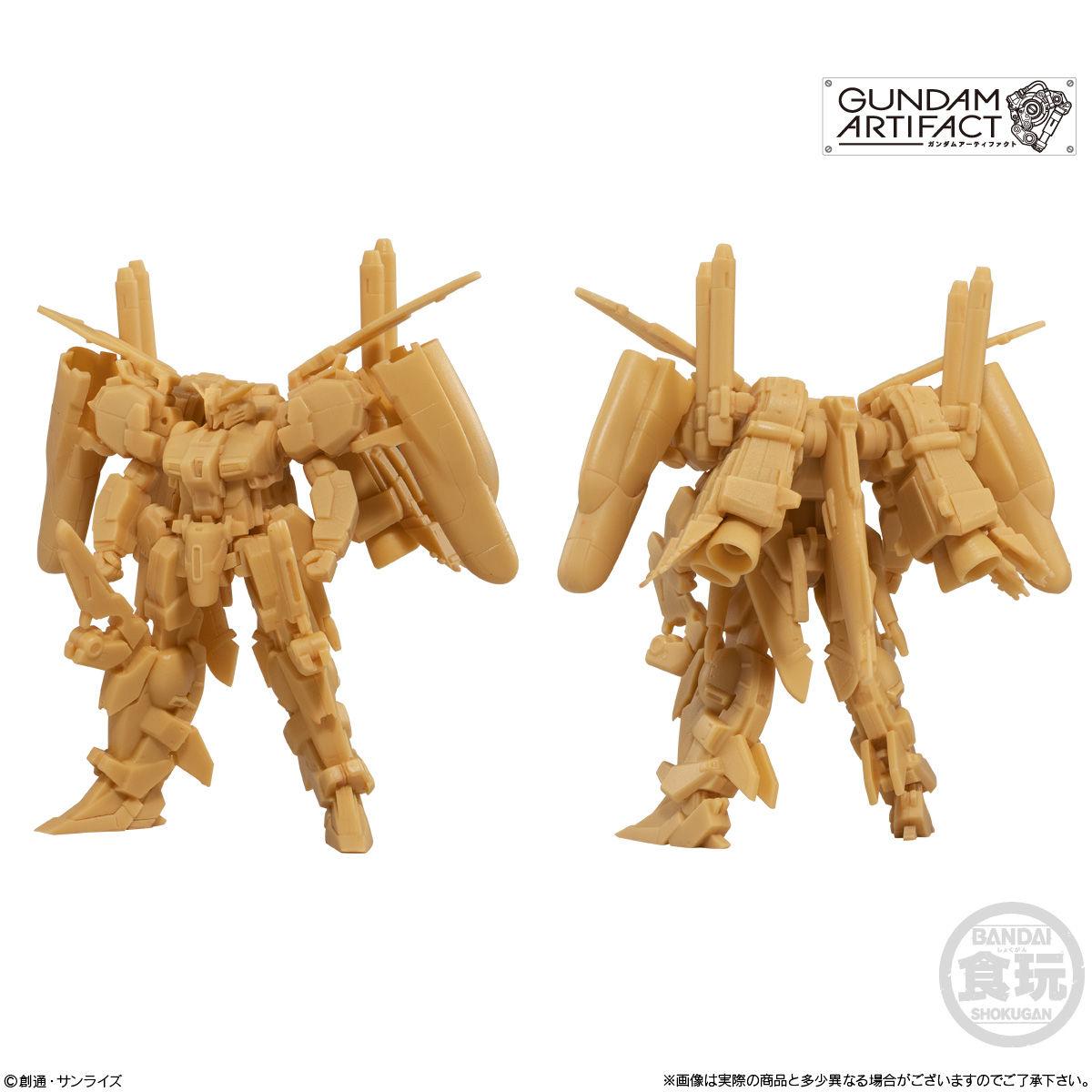 【食玩】機動戦士ガンダム『ガンダムアーティファクト』プラ製ミニキット 10個入りBOX-005