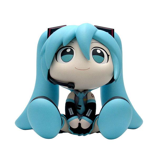 BINIVINI BABY『SOFT VINYL FIGURE 初音ミク』キャラクター・ボーカル・シリーズ01 初音ミク デフォルメ完成品ソフビフィギュア-001