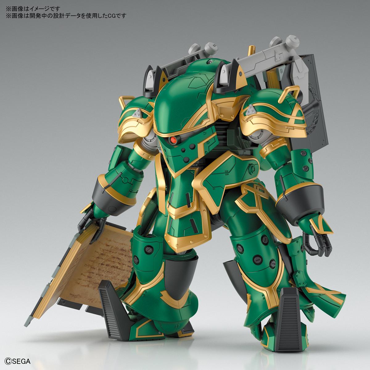 HG 1/24『霊子戦闘機・無限(クラリス機)』新サクラ大戦 プラモデル-001