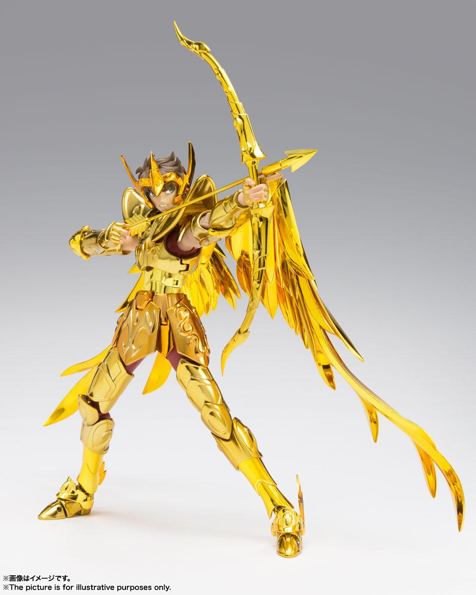 聖闘士聖衣神話EX『サジタリアスアイオロス〈リバイバル版〉』聖闘士星矢 可動フィギュア-005