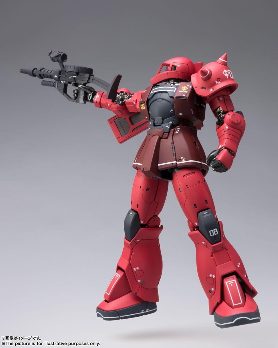 FIX FIGURATION METAL COMPOSITE『MS-05S ザクI(シャア専用機)』可動フィギュア-006