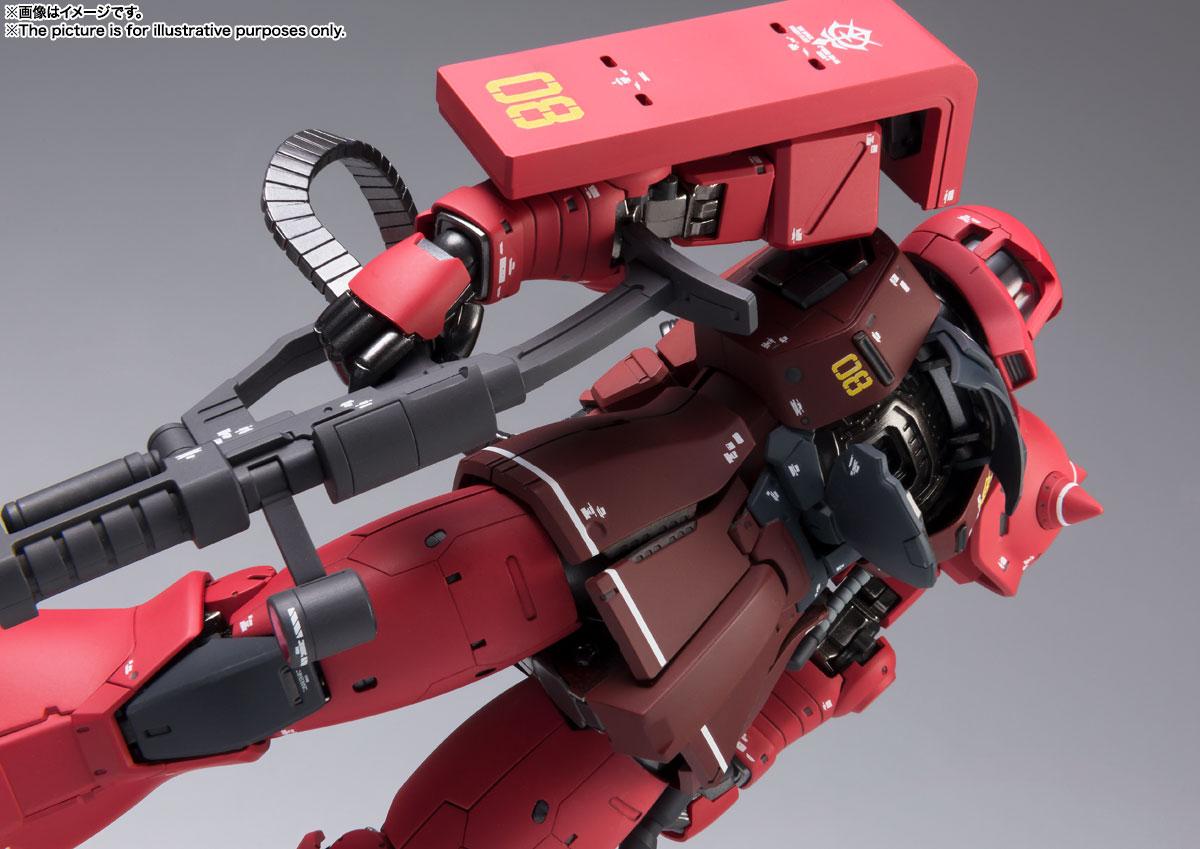 FIX FIGURATION METAL COMPOSITE『MS-05S ザクI(シャア専用機)』可動フィギュア-007