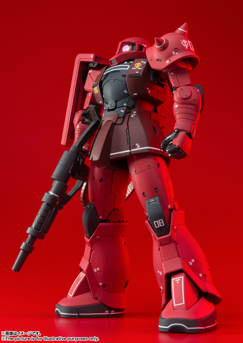FIX FIGURATION METAL COMPOSITE『MS-05S ザクI(シャア専用機)』可動フィギュア-009