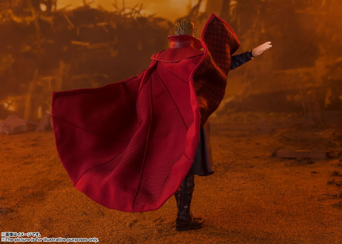 S.H.Figuarts『ドクターストレンジ -《BATTLE ON TITAN》 EDITION-』アベンジャーズ/インフィニティ・ウォー 可動フィギュア-002