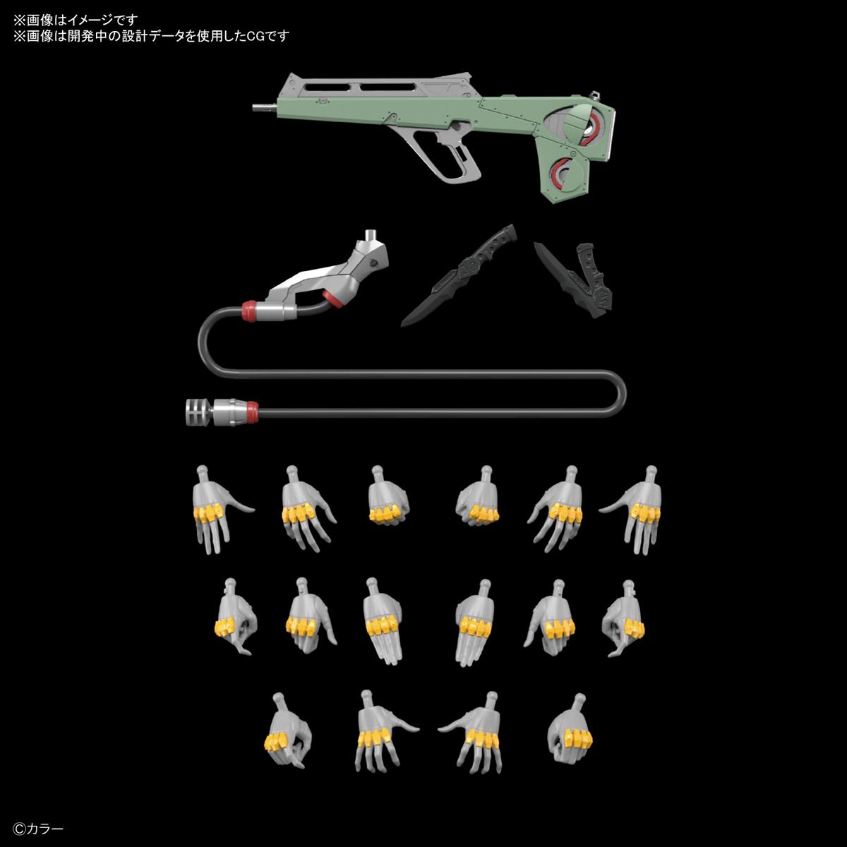 RG『汎用ヒト型決戦兵器 人造人間エヴァンゲリオン 正規実用型(ヴィレカスタム)8号機α』プラモデル-007