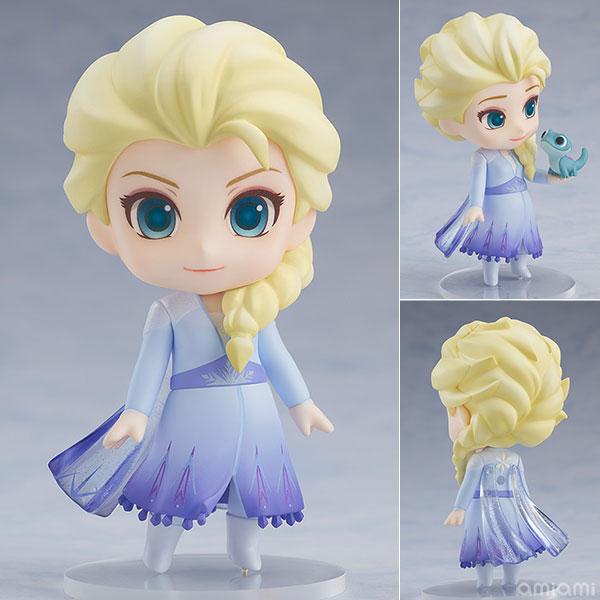 ねんどろいど『エルサ Blue dress Ver.』アナと雪の女王2 デフォルメ可動フィギュア