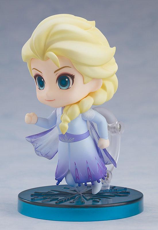 ねんどろいど『エルサ Blue dress Ver.』アナと雪の女王2 デフォルメ可動フィギュア-001