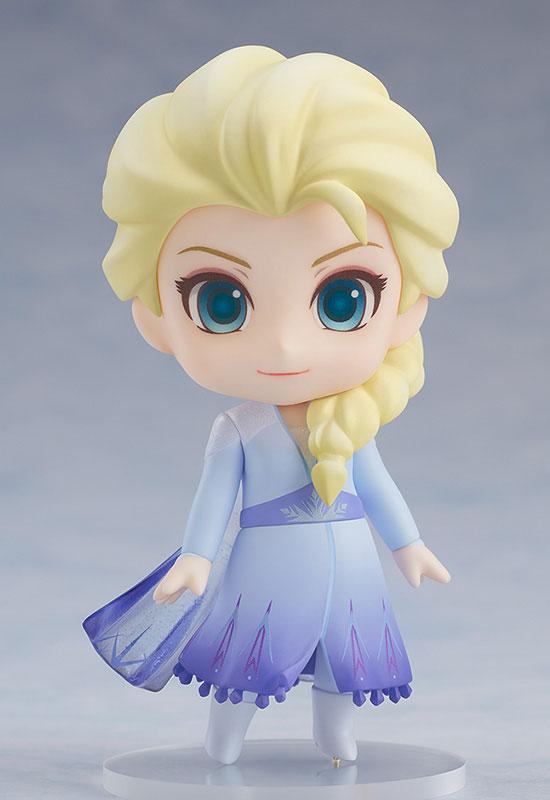ねんどろいど『エルサ Blue dress Ver.』アナと雪の女王2 デフォルメ可動フィギュア-002
