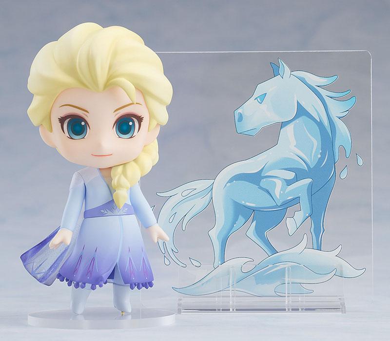 ねんどろいど『エルサ Blue dress Ver.』アナと雪の女王2 デフォルメ可動フィギュア-003