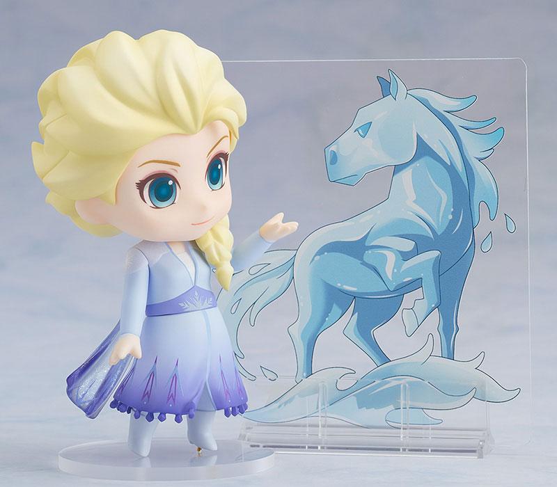 ねんどろいど『エルサ Blue dress Ver.』アナと雪の女王2 デフォルメ可動フィギュア-004
