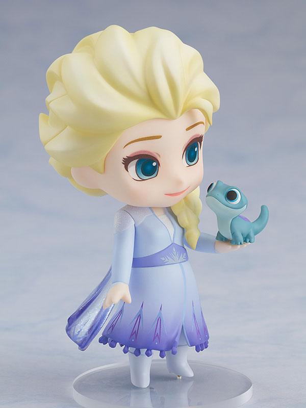 ねんどろいど『エルサ Blue dress Ver.』アナと雪の女王2 デフォルメ可動フィギュア-005