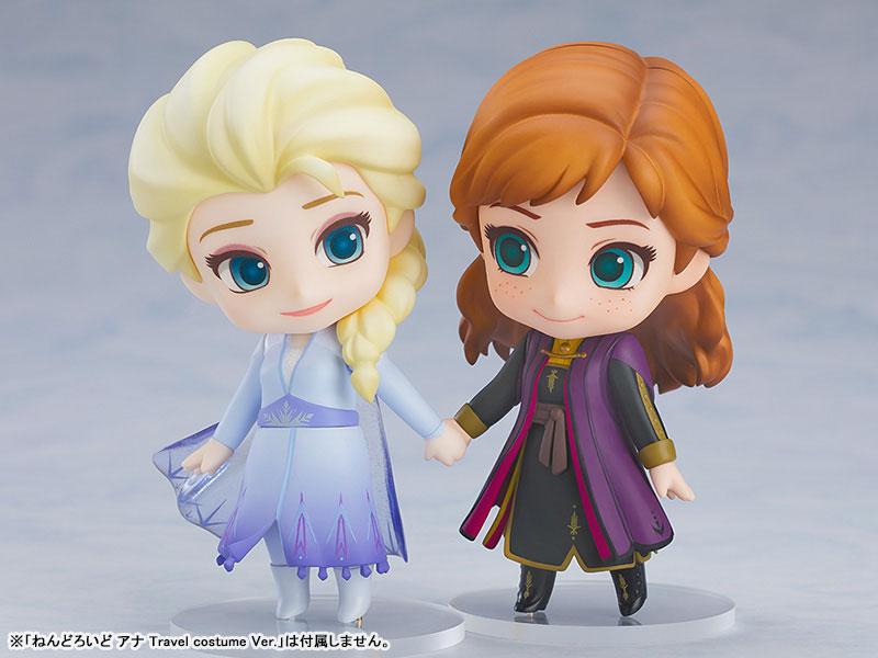 ねんどろいど『エルサ Blue dress Ver.』アナと雪の女王2 デフォルメ可動フィギュア-007