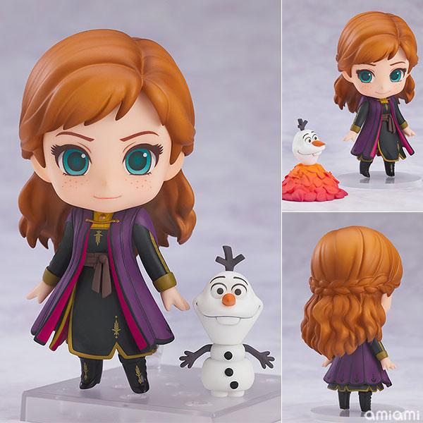 ねんどろいど『アナ Travel costume Ver.』アナと雪の女王2 デフォルメ可動フィギュア