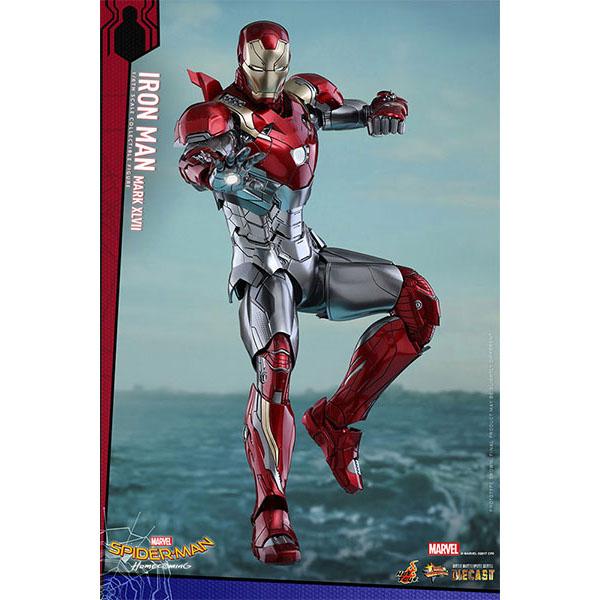 【再販】ムービー・マスターピース DIECAST『アイアンマン・マーク47』スパイダーマン:ホームカミング 1/6 可動フィギュア