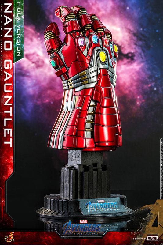 アクセサリー・コレクション『ナノ・ガントレット(ハルク版)』アベンジャーズ/エンドゲーム  1/4 可動モデル-001