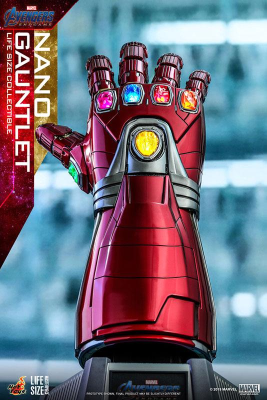 ライフサイズ・マスターピース『ナノ・ガントレット』アベンジャーズ/エンドゲーム  1/1 モデル-001