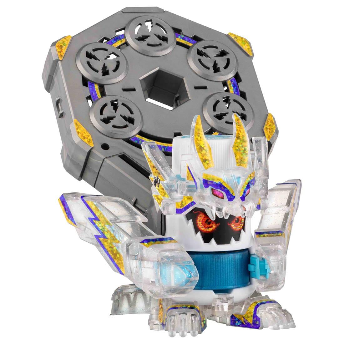 キャップ革命 ボトルマン『BOT-09 フウジンブラック』おもちゃ-006