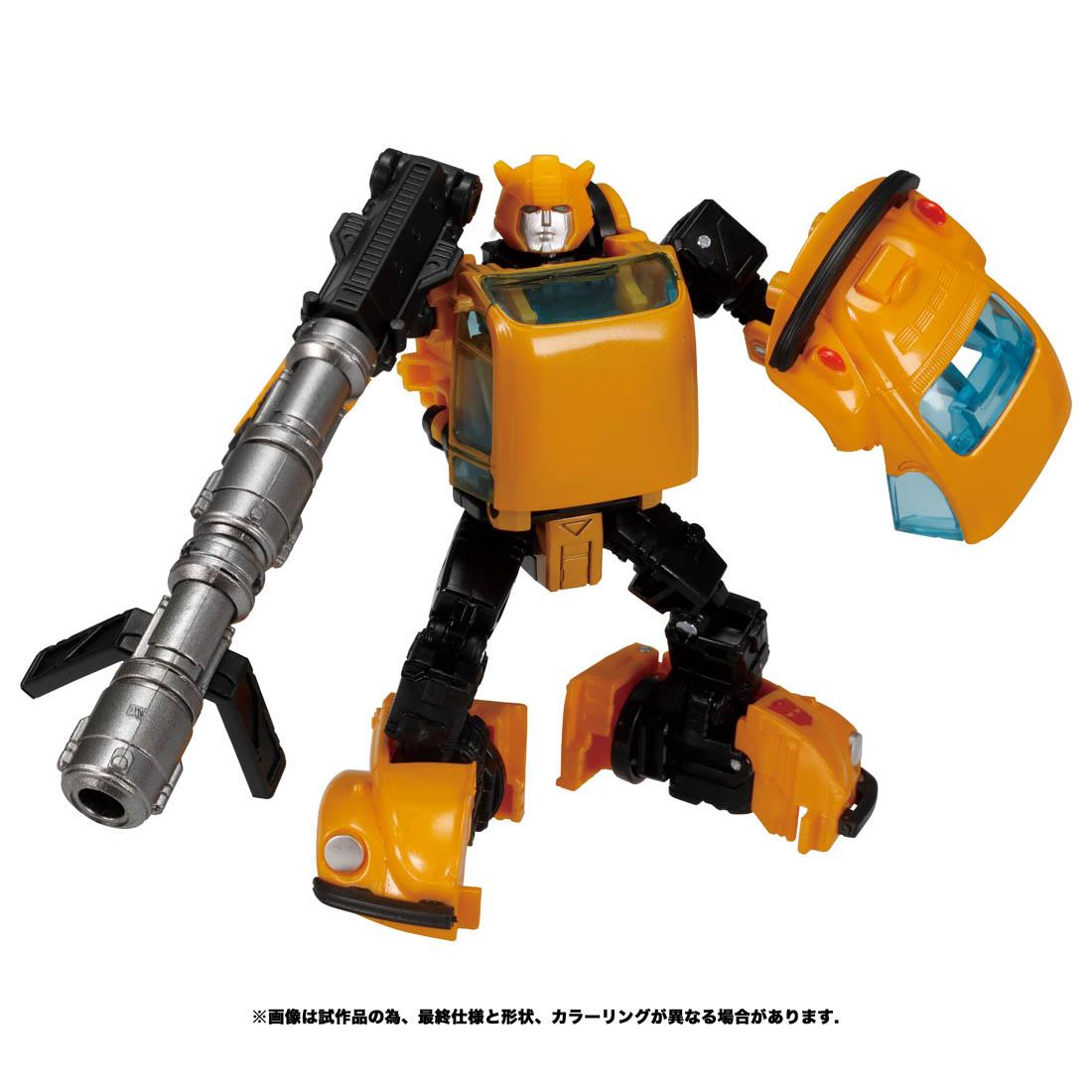 トランスフォーマー ウォーフォーサイバトロン『WFC-09 バンブルビー』可変可動フィギュア-001