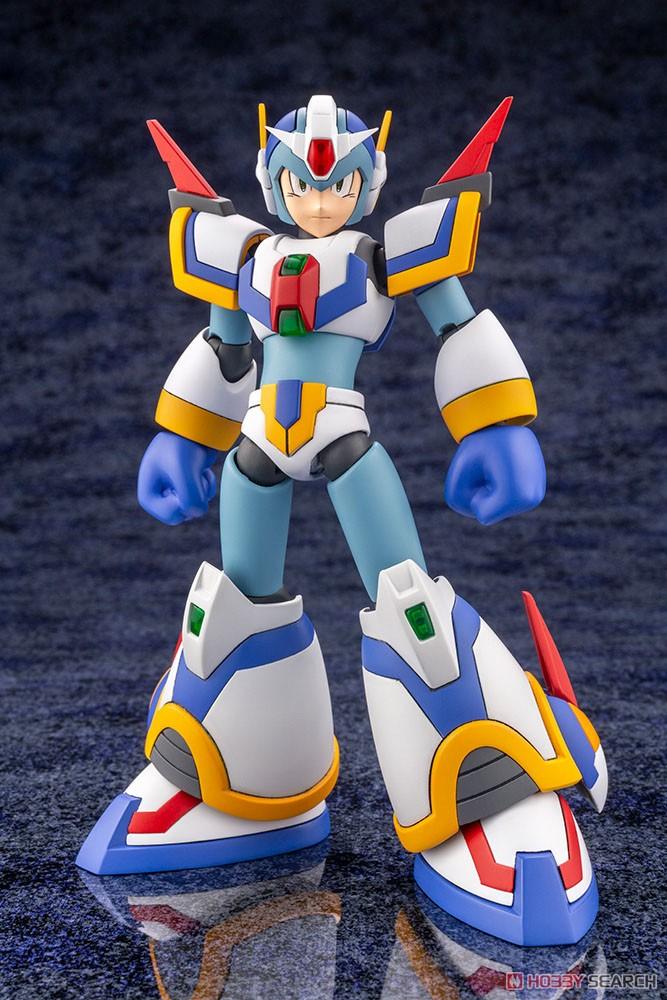 ロックマンX『エックス ライジングファイアVer.』1/12 プラモデル-003
