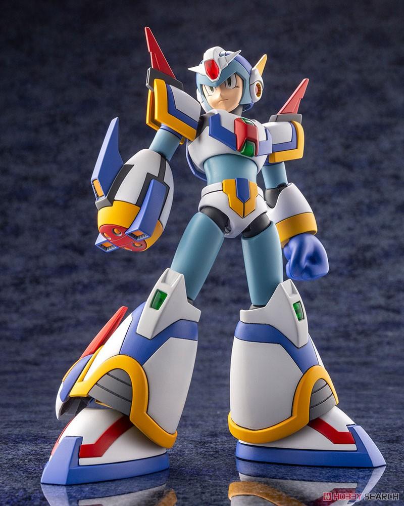 ロックマンX『エックス ライジングファイアVer.』1/12 プラモデル-004