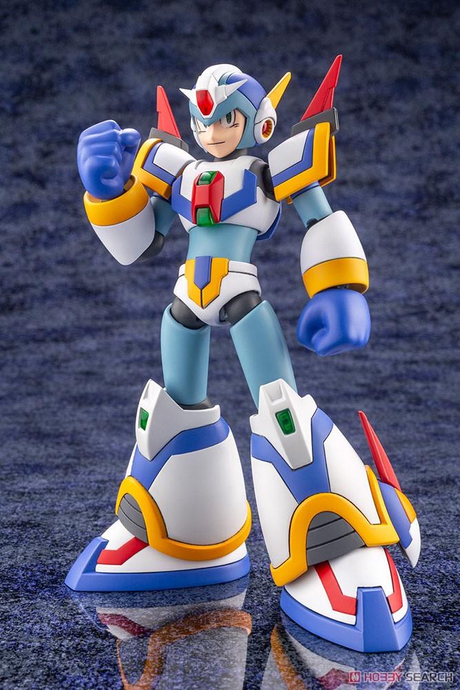 ロックマンX『エックス ライジングファイアVer.』1/12 プラモデル-006