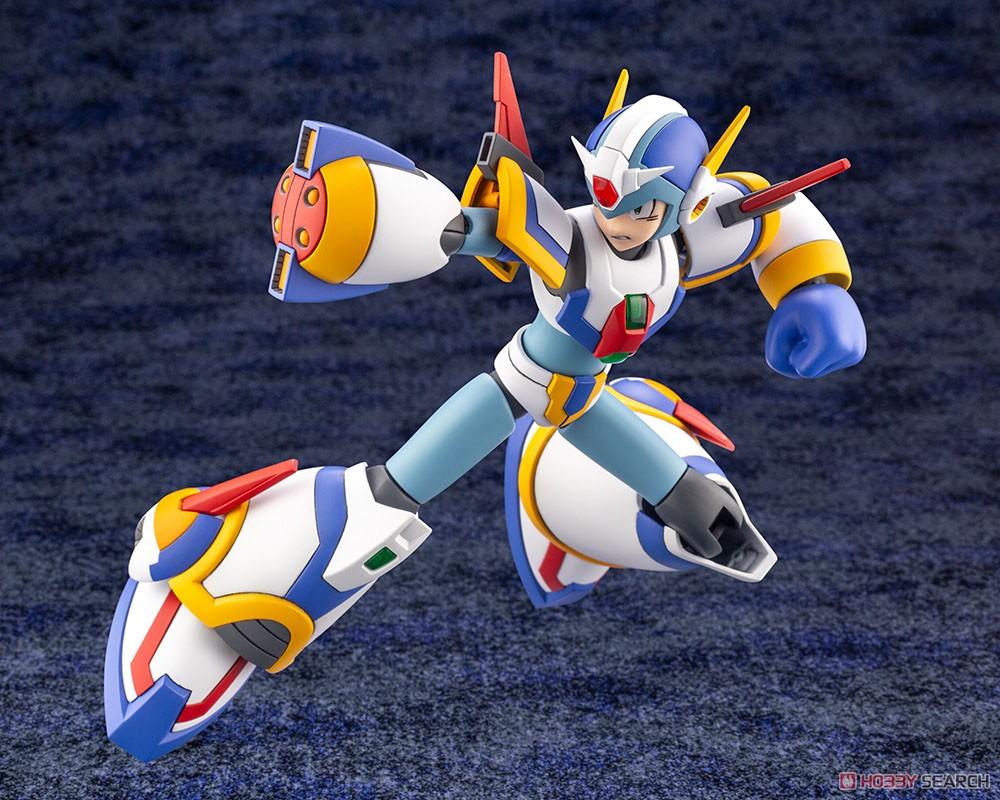ロックマンX『エックス ライジングファイアVer.』1/12 プラモデル-008