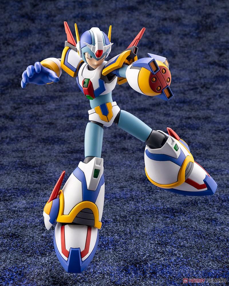 ロックマンX『エックス ライジングファイアVer.』1/12 プラモデル-009