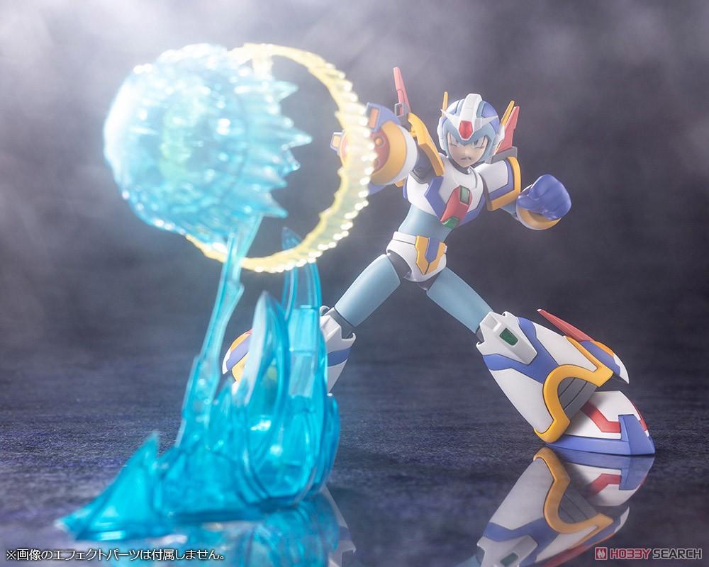 ロックマンX『エックス ライジングファイアVer.』1/12 プラモデル-014