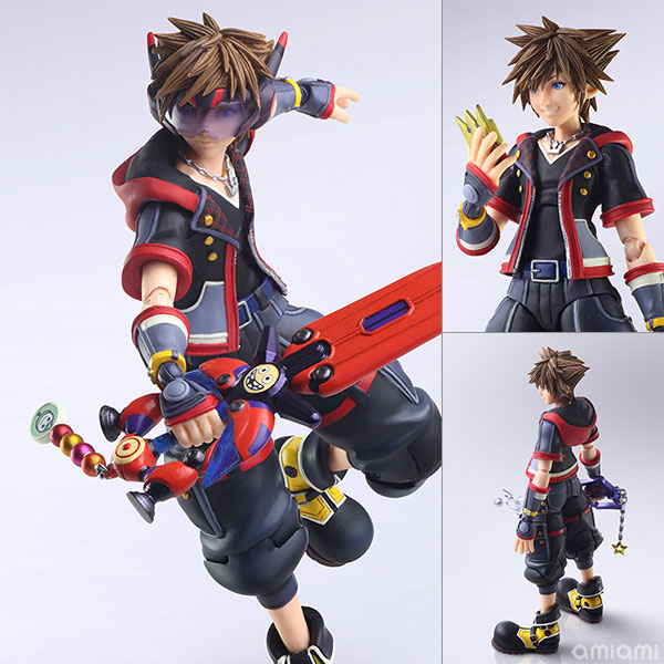 BRING ARTS『ソラ Version 2』KINGDOM HEARTS III 可動フィギュア